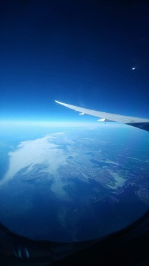 Mother Earth above the Atlantic
